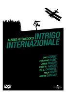 North by Northwest - Italian DVD cover (xs thumbnail)