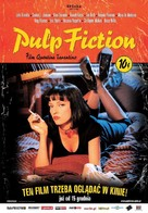 Pulp Fiction - Polish Movie Poster (xs thumbnail)