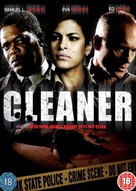 Cleaner - British DVD movie cover (xs thumbnail)