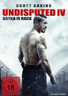 Boyka: Undisputed IV - German Movie Cover (xs thumbnail)