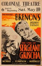The Case of Sergeant Grischa - Movie Poster (xs thumbnail)
