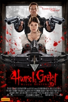 Hansel & Gretel: Witch Hunters - Australian Movie Poster (xs thumbnail)