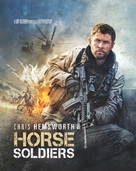 12 Strong - French Blu-Ray cover (xs thumbnail)