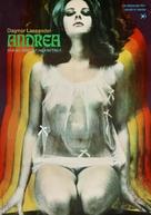 Andrea - Wie ein Blatt auf nackter Haut - German Movie Poster (xs thumbnail)