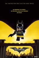 The Lego Batman Movie - Italian Movie Poster (xs thumbnail)