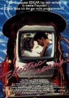 Electric Dreams - German Movie Poster (xs thumbnail)