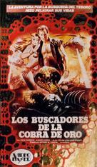 Cacciatori del cobra d'oro, I - Spanish VHS cover (xs thumbnail)