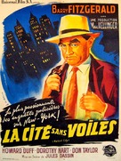 The Naked City - French Movie Poster (xs thumbnail)