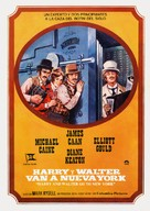 Harry and Walter Go to New York - Spanish Movie Poster (xs thumbnail)