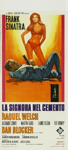 Lady in Cement - Italian Movie Poster (xs thumbnail)