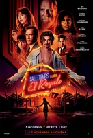 Bad Times at the El Royale - French Movie Poster (xs thumbnail)