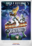 Ratchet and Clank - Slovenian Movie Poster (xs thumbnail)