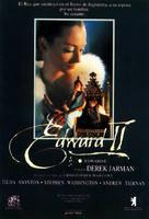 Edward II - Spanish poster (xs thumbnail)