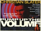 Pump Up The Volume - British Movie Poster (xs thumbnail)