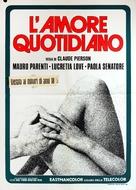 Donnez-nous notre amour quotidien - Italian Movie Poster (xs thumbnail)