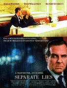 Separate Lies - French Movie Poster (xs thumbnail)
