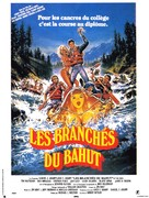Up the Creek - French Movie Poster (xs thumbnail)