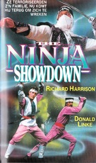 The Ninja Showdown - Dutch Movie Cover (xs thumbnail)