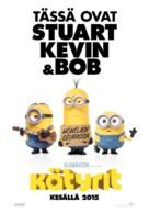 Minions - Finnish Movie Poster (xs thumbnail)