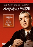 Anatomy of a Murder - DVD movie cover (xs thumbnail)