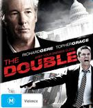 The Double - Australian Blu-Ray cover (xs thumbnail)