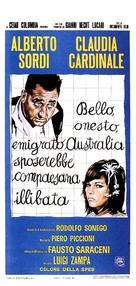 Bello, onesto, emigrato Australia sposerebbe compaesana illibata - Italian Movie Poster (xs thumbnail)