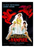 Ultima preda del vampiro, L' - French Movie Poster (xs thumbnail)
