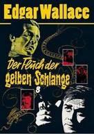 Der Fluch der gelben Schlange - German DVD movie cover (xs thumbnail)