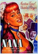 Nana - German Movie Poster (xs thumbnail)