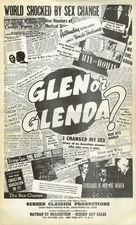 Glen or Glenda - Movie Poster (xs thumbnail)