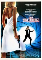 The Living Daylights - Italian Movie Poster (xs thumbnail)