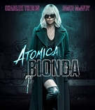 Atomic Blonde - Italian Movie Cover (xs thumbnail)
