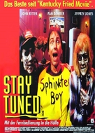 Stay Tuned - German Movie Poster (xs thumbnail)