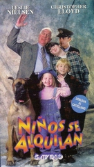 Rent-a-Kid - Argentinian VHS cover (xs thumbnail)
