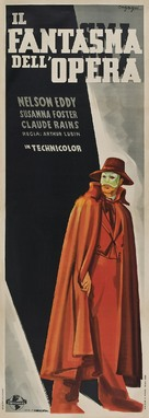 Phantom of the Opera - Italian Movie Poster (xs thumbnail)