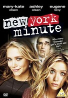 New York Minute - British DVD cover (xs thumbnail)