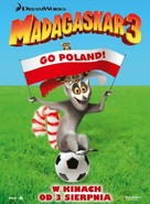 Madagascar 3: Europe's Most Wanted - Polish Movie Poster (xs thumbnail)