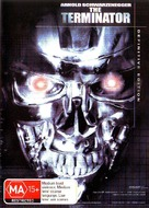 The Terminator - Australian DVD cover (xs thumbnail)