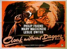 Cloak Without Dagger - British Movie Poster (xs thumbnail)