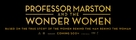 Professor Marston & the Wonder Women - British Logo (xs thumbnail)