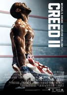 Creed II - Swedish Movie Poster (xs thumbnail)