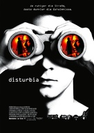 Disturbia - German Movie Poster (xs thumbnail)