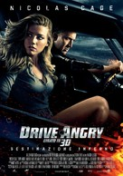 Drive Angry - Italian Movie Poster (xs thumbnail)