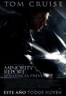 Minority Report - Mexican Movie Poster (xs thumbnail)