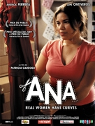 Real Women Have Curves - French Movie Poster (xs thumbnail)