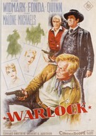 Warlock - German Movie Poster (xs thumbnail)