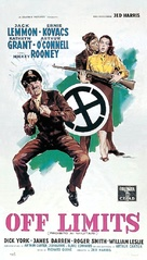 Operation Mad Ball - Italian Theatrical poster (xs thumbnail)