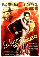 Double Indemnity - Italian Theatrical movie poster (xs thumbnail)