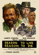 Una ragione per vivere e una per morire - Italian Movie Poster (xs thumbnail)
