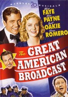 The Great American Broadcast - DVD cover (xs thumbnail)